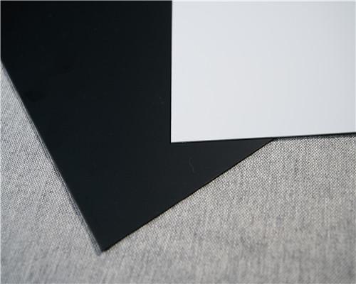 爆款现货供应PVC黑白片材