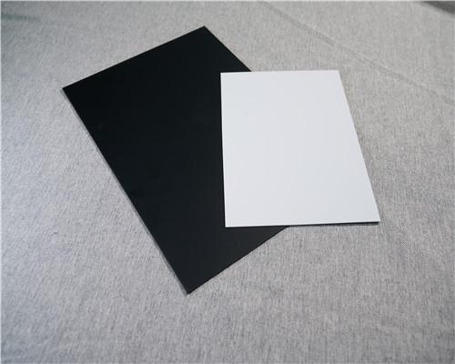 爆款直销优质PVC黑白片材